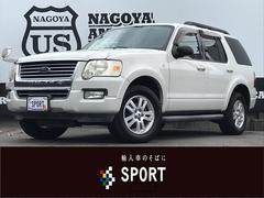 フォード エクスプローラーXLTスーパーエクスクルーシブ 地デジナビ 黒革 SR