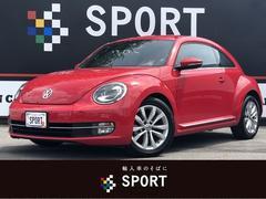 VW ザ・ビートルデザインレザーパッケージ 黒革 純正ナビ ETC クルコン
