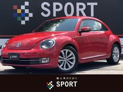VW ザ・ビートルデザインレザーパッケージ 純正Mナビ 本革 Sヒータ ETC