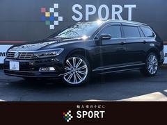 VW パサートヴァリアントTSI Rライン メーカーナビ 黒革 ACC スマートキー
