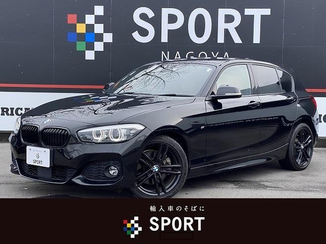 BMW 118d Mスポーツ エディションシャドー 限定車 アクティブクルーズコントロール インテリジェントセーフティ 純正HDDナビ バックカメラ ブラウンレザーシート シートヒーター コンフォートアクセス LEDヘッドライト ETC 純正AW