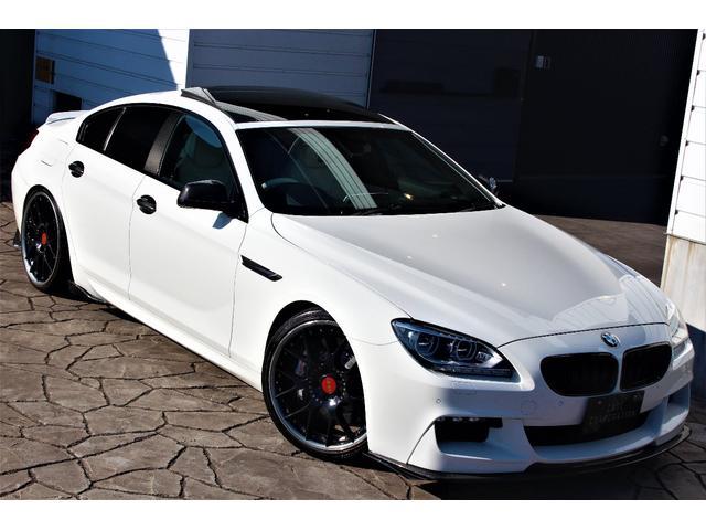 BMW 6シリーズ 640iグランクーペ MスポP BBS21インチ KW車高調