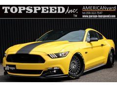 フォード マスタングGT6速MT BROCADE鍛造20AW エアサス 内装張替