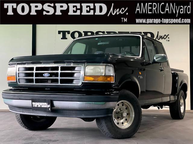 フォード XLT 新車並行車 4WD ベンチシート ブラック修復塗装済 燃料サブタンク 5700cc