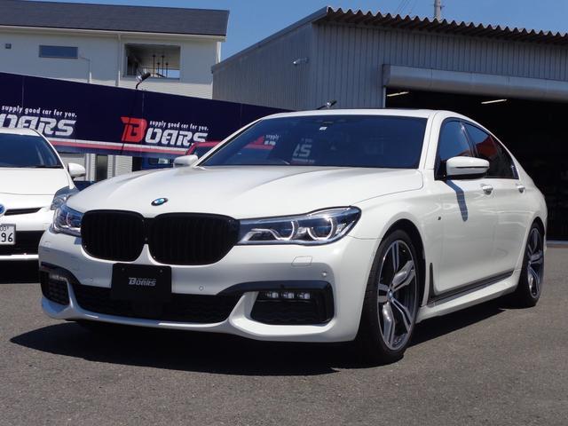BMW 740i Mスポーツ サンルーフ 純正HDDナビTV