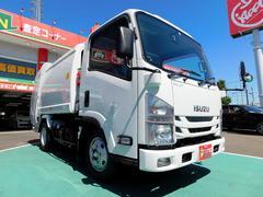 エルフトラックパッカー車 極東開発4.3立米 プレス式 未使用車