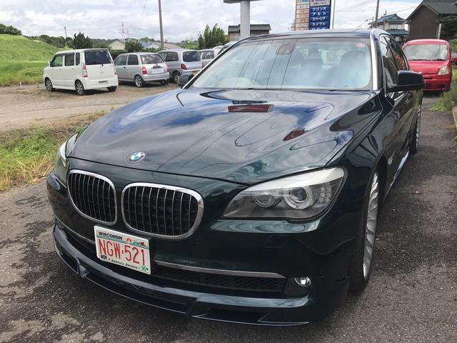 BMW 760Li V12ツインターボ HDDマルチ SR 本革