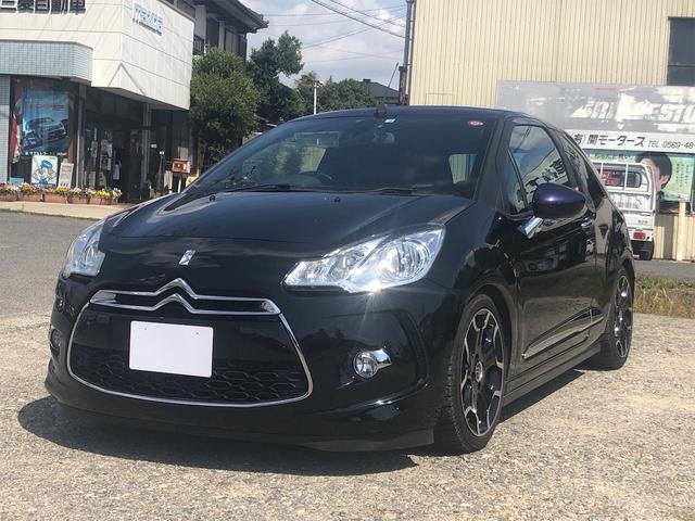 「シトロエン」「DS3カブリオ」「コンパクトカー」「愛知県」の中古車