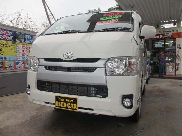 トヨタ ロングDX GLパッケージ D-T 4WD 5ドア 3/6人