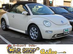 VW ニュービートルカブリオレキーレスキー 革シート アルミホイール