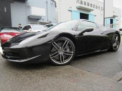 フェラーリ 458スパイダーディーラー車 ディーラー保証有り 屋内保管 ジェニュイン鍛造