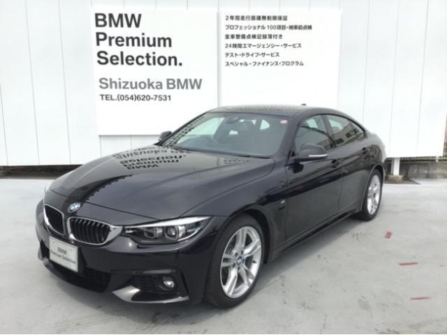 BMW 420iグランクーペ Mスポーツ 純正HDDナビ