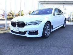 BMW740i Mスポーツ サンルーフ黒革HUD/ACC