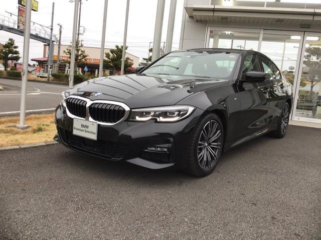 BMW 320d xDrive MスポーツTV黒革ハイラインPKG