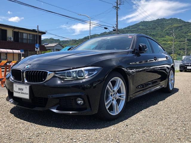 BMW 4シリーズ 420iグランクーペ Mスピリット LEDライト・CD・TVチューナー・パワーシート・シートヒーター・電動ゲート・純正18インチAW・アクティブクルーズコントロール