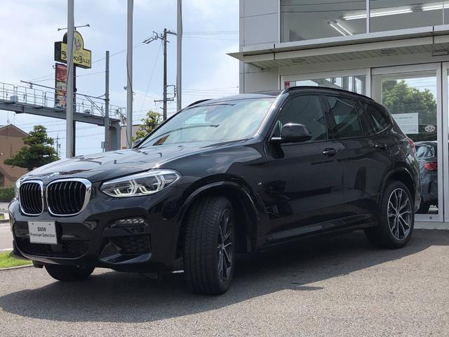 BMW X3 xDrive 20d Mスポーツハイラインパッケージ セレクトパッケージ・アンビエントライト付き・20インチホイール