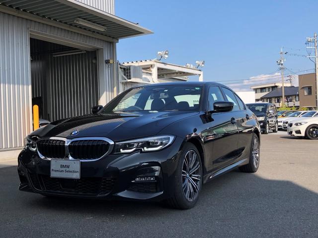 BMW 3シリーズ 320d xDrive Mスポーツ 当社試乗車UP・コンフォートパッケージ・パーキングアシストプラス・全方位カメラ・電動リヤゲート・電動シート・シートヒーター・LEDヘッドランプ・純正18インチアルミ・ミラーETC