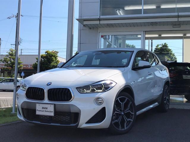 BMW X2 sDrive 18i MスポーツX ハイラインパック アドバンスド・コンフォート・ハイラインパッケージ・黒革シート・シートヒーター・LEDライト・純正19インチAW・電動リヤゲート・アクティブクルーズコントロール・バックカメラ・ETC