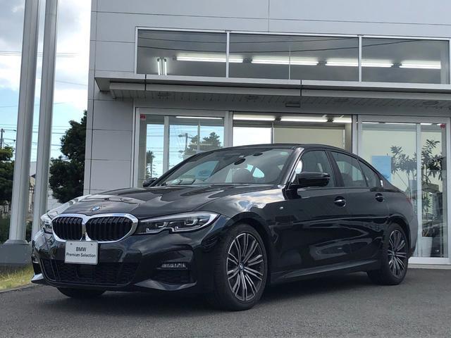 BMW 3シリーズ 320d xDrive Mスポーツ 当社試乗車UP・ハイライン・コンフォートパッケージ・パーキングアシストパッケージ・茶革シート・全方位カメラ・LEDライト・パワーシート・純正18インチAW・電動トランク・ETC