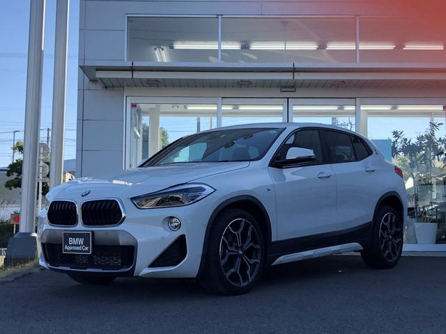 BMW X2 sDrive 18i MスポーツX コンフォートパッケージ・電動リヤゲート・LEDライト・純正19インチAW・シートヒーター・バックカメラ・ETC