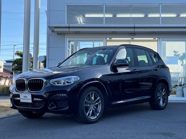 BMW X3 xDrive 20d Mスポーツハイラインパッケージ アンビエントライト・リアシートアジャスメント・黒レザー・LDEライト・リヤ電動ゲート・純正19インチAW・パワーシート・シートヒーター・ヘッドアップディスプレー・アクティブクルーズコントロール