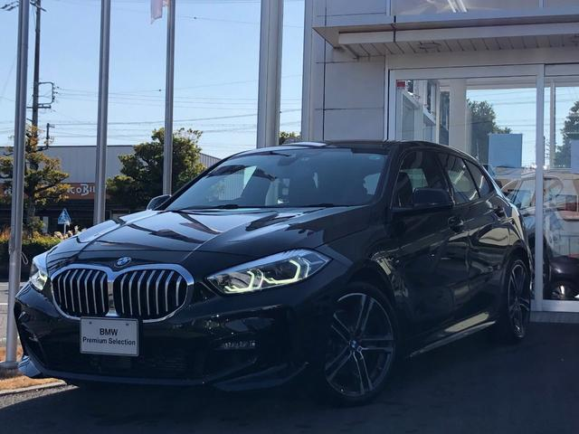 BMW 1シリーズ 118i Mスポーツ ナビゲーションパッケージ・コンフォートパッケージ・ストレージパッケージ・純正18インチAW・パワーシート・LEDライト・アクティブクルーズコントロール・電動リヤゲート・バックカメラ・ETC