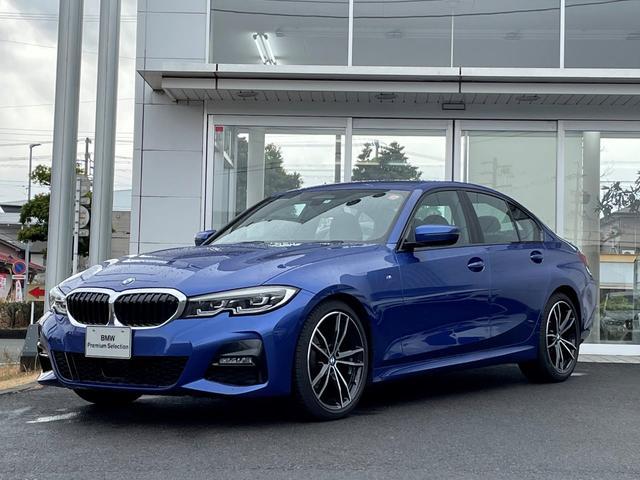 BMW 3シリーズ 320i Mスポーツ デビューパッケージ・試乗車UP・純正19インチアルミ・黒革シート・シートヒーター・電動シート・LEDヘッドランプ・ヘッドアップディスプレイ・バックカメラ