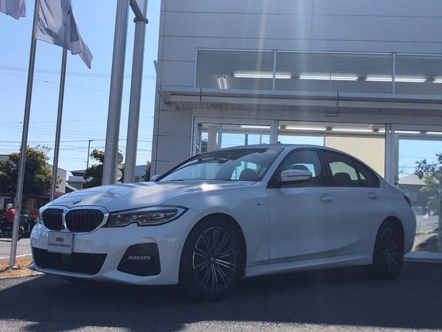 BMW 3シリーズ 320i Mスポーツ 試乗車UP・パーキングアシストプラス・純正18インチアルミ・全方位カメラ・電動シート・シートヒーター・LEDヘッドランプ・LEDフォグランプ・電動トランク・アクティブクルーズコントロール・ETC