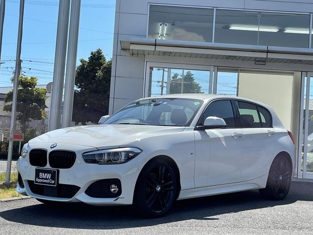 BMW 1シリーズ 118d Mスポーツ エディションシャドー アップグレードパッケージ・LEDヘッドライト・黒革シート・電動シート・シートヒーター・アクティブクルーズコントロール・バックカメラ・ミラーETC・CD・弊社レンタカーアップ