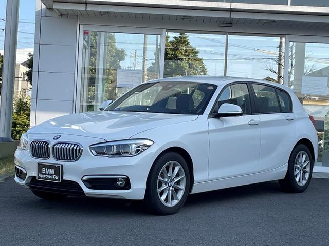 BMW 1シリーズ 118d スタイル 当社下取ワンオーナー車・パーキングサポートパッケージ・HIDヘッドライト・ハーフレザーシート・クルーズコントロール・バックカメラ・純正16インチアルミ・CD