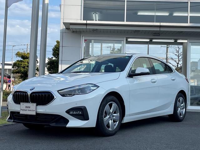 BMW 218dグランクーペ プレイ エディションジョイ+ ナビパッケージ・電動シート・LEDヘッドライト・アクティブクルーズコントロール・弊社デモアップ・16インチ
