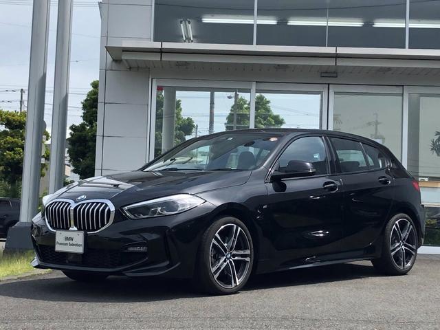 BMW 1シリーズ 118d Mスポーツ エディションジョイ+ 試乗車UP・ナビパッケージ・LEDヘッドライト・LEDフォグランプ・スポーツアルカンタラシート・純正18インチアルミ・バックカメラ・ミラーETC
