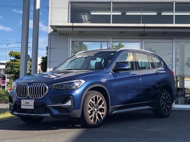 BMW X1 xDrive 18d xライン エディションジョイ+ セーフティー・コンフォートパッケージ・ハーフレザー・LEDヘッドライト・電動シート・弊社デモアップ