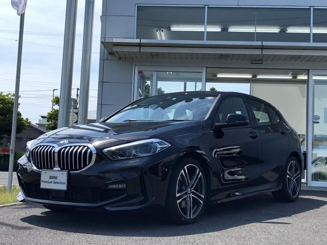 BMW 1シリーズ 118d Mスポーツ エディションジョイ+ 試乗車UP・ナビパッケージ・LEDヘッドライト・LEDフォグランプ・純正18インチアルミ・アルカンタラスポーツシート・バックカメラ・ミラーETC