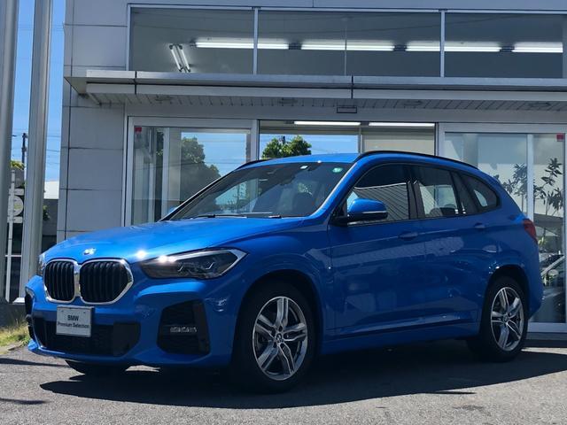 BMW X1 xDrive 18d Mスポーツエディションジョイ+ 試乗車UP・LEDヘッドライト・スポーツシート・電動シート・アクティブクルーズコントロール・純正18インチアルミ・電動リアゲート・LEDフォグランプ・バックカメラ・ミラーETC