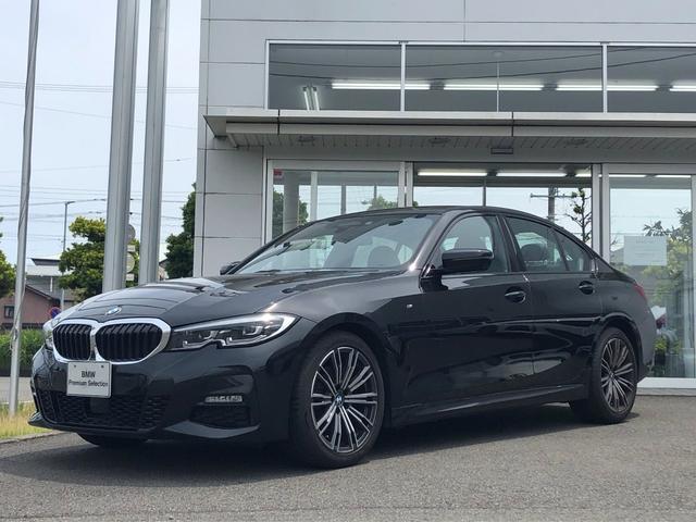 BMW 3シリーズ 320d xDrive Mスポーツ 当社試乗車UP・純正TVチューナー・パーキングアシストプラス・LEDヘッドライト・電動シート・シートヒーター・全方位カメラ・純正18インチアルミ・アクティブクルーズコントロール・ミラーETC