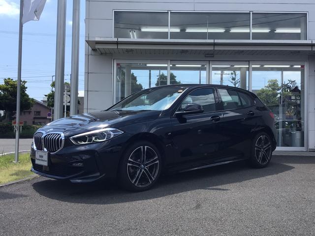 BMW 1シリーズ 118i Mスポーツ 当社試乗車UP・ナビ・コンフォートパッケージ・純正18インチアルミ・アクティブクルーズコントロール・電動リヤゲート・パワーシート・LEDヘッドライト・バックカメラ・ミラーETC
