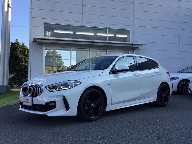 BMW 1シリーズ 118i Mスポーツ 当社下取ワンオーナー・ナビ・ビジョン・ハイライン・コンフォートPKG・黒革シート・シートヒーター・パワーシート・ヘッドUPディスプレイ・アクティブクルーズコントロール・電動リヤゲート・ブラック純正AW