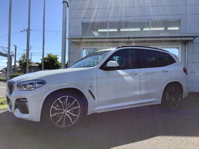 BMW X3 xDrive 20d Mスポーツハイラインパッケージ 当社下取ワンオーナー車・ヘッドアップディスプレイ・サンルーフ・ハーマンカードン・全方位カメラ・茶革シート・電動シート・シートヒーター・TVチューナー・前後ドライブレコーダー・セリウムグレーフレーム