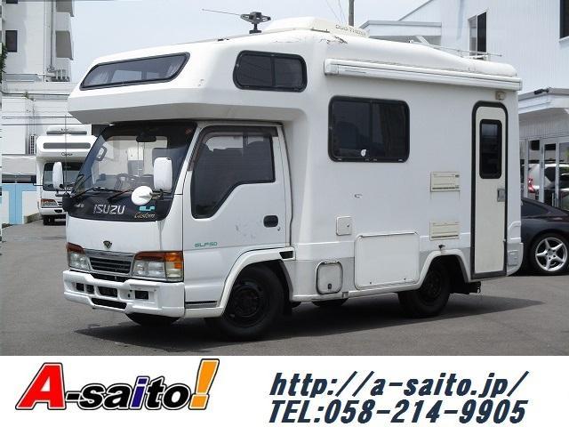 いすゞ エルフトラック ヨコハマモーターセールス製オックス 4WD...