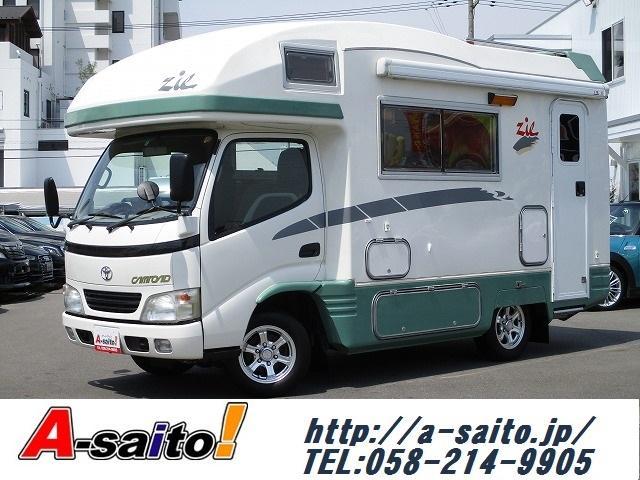 トヨタ バンテック製ジル3 2.5DT ソーラー FFヒーター