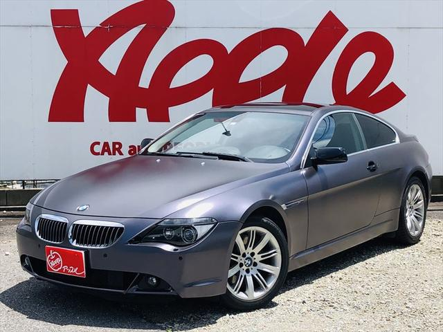 BMW 6シリーズ 650iクーペ サンルーフ 左ハンドル ユーザー買取車
