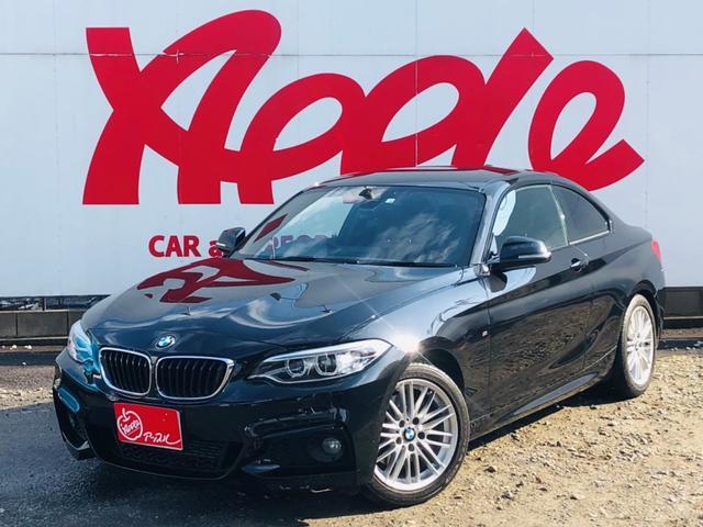 BMW 220iクーペ Mスポーツ インテリジェントセーフティ 純正ナビ 衝突軽減システム レーンキープ バックカメラ ETC パドルシフト アイドリングストップ スマートキー メモリーパワーシート バックソナー クルーズコントロール