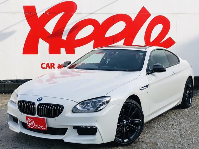 BMW 6シリーズ 640iクーペ Mスポーツ MパフォーマンスED 10台限定特別仕様車 サンルーフ 黒革シート シートヒーター パワーシート クルーズコントロール Bカメラ RFT 衝突軽減ブレーキ パドルシフト LEDヘッドライト