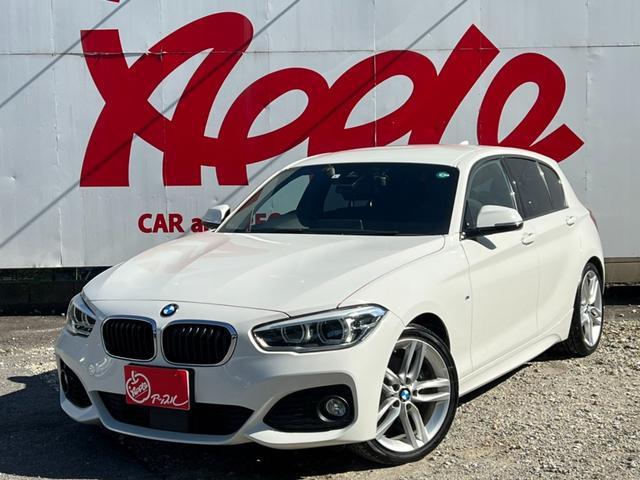BMW 118i Mスポーツ 純正HDDナビ レーダークルーズ 衝突防止装置 レーンアシスト バックカメラ コーナーセンサー Bluetooth ETC
