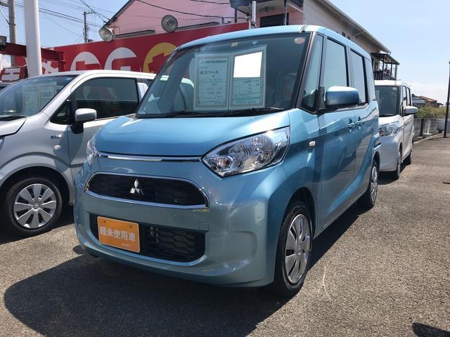 三菱 M 軽自動車 インパネCVT 保証付 エアコン 4人乗り