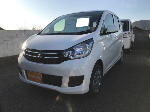三菱 E 軽自動車 ホワイトソリッド CVT 保証付 AC