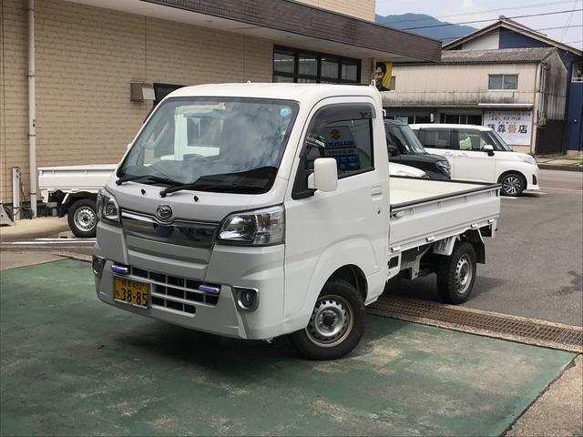ダイハツ 4WD AC MT 軽トラック オーディオ付 ホワイト