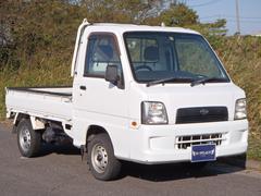 サンバートラックオートマ軽トラ 4WD エアコン・パワステ 運転席エアバッグ