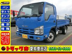 エルフトラック 平 10尺 2t スムーサー ナビ フルフラットロー 3方開(いすゞ)